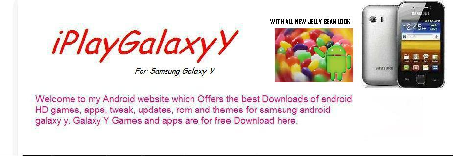 iPlayGalaxyY For Samsung Galaxy Y