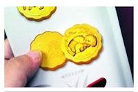 bánh trung thu bằng vàng