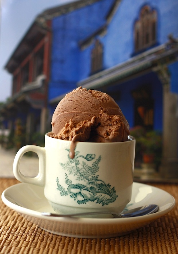 Roasted Coffee Bean Chocolate Ice Cream by Season with Spice