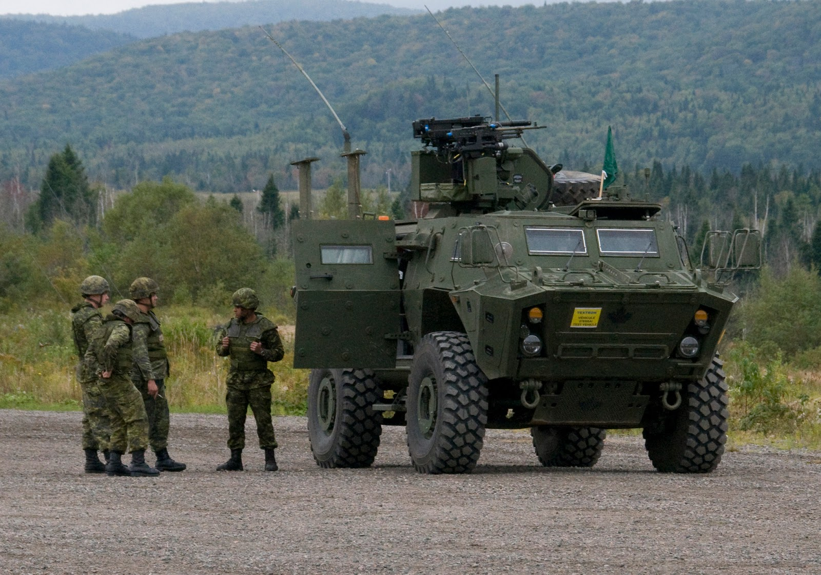 Snafu Textron S Tactical Armored Patrol Vehicle Tapv