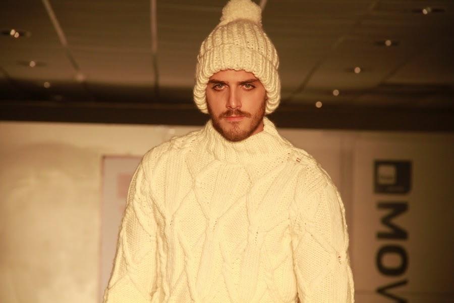 hombre tejido lana