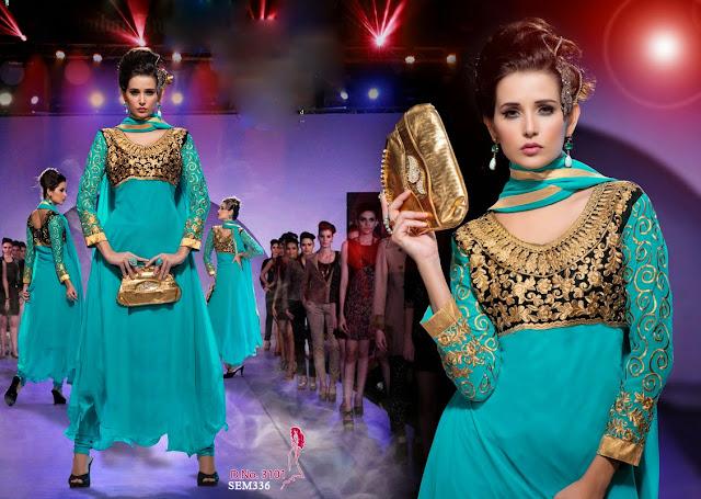 Indian Fashionable Anarkali Suit – Wholesale Supplier