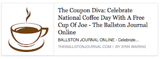 http://theballstonjournal.com/2015/09/29/celebrate-national-coffee-day-with-a-free-cup-of-joe/