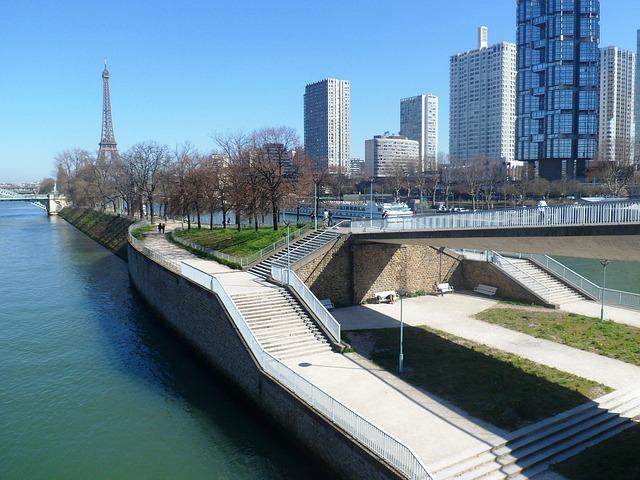 Torre Eiffel y hotels que no son todo inlcuido de París
