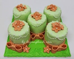 Fondant Miniature Cake