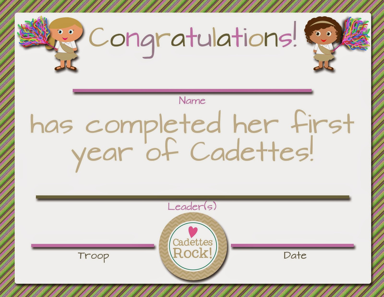 Girl Scout Bridging Ceremony Invitations as adorable invitations template