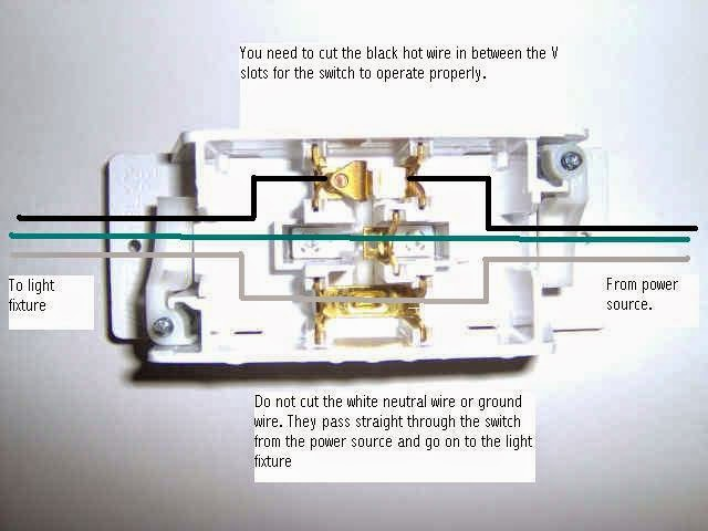 diy mobile home repair light switch wiring diagram Cooper Switch Wiring Diagram
