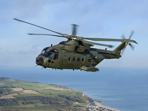 AW101 Italian Medium-Lift Helicopter