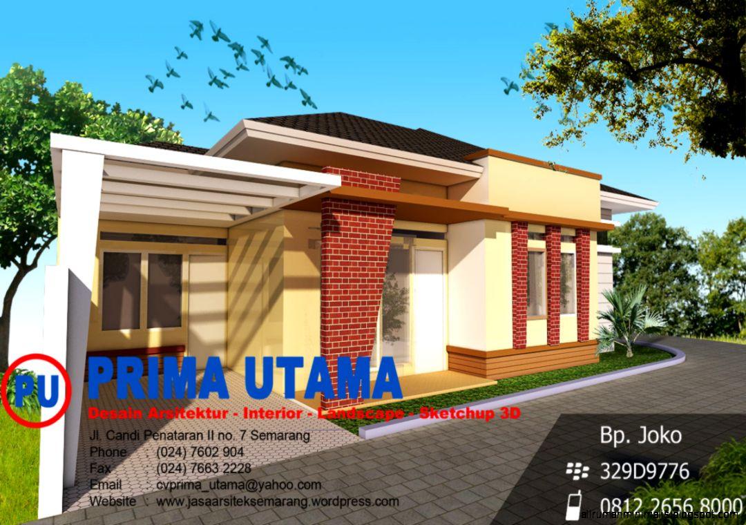 jasa gambar rumah  Prima Utama Design
