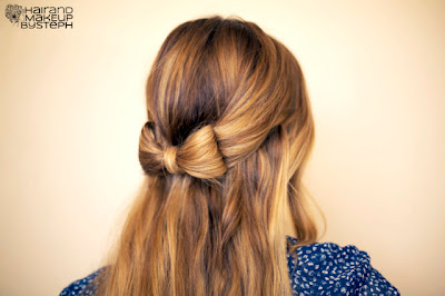 How To: Hair Bow Hair and make up