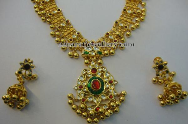 Tussi Balls Another Kundan Set
