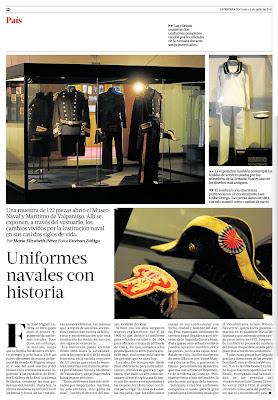 museo naval valparaiso uniformes