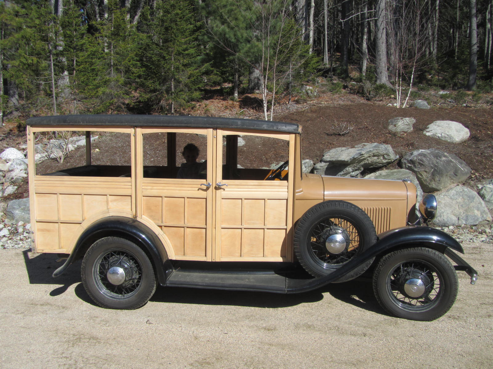 The Next Car Unearthed Was A 1930 Ford Model Town Sedan That Had Been Living In Blue Hill Barn For Thirty Years But Ill Save Most Of