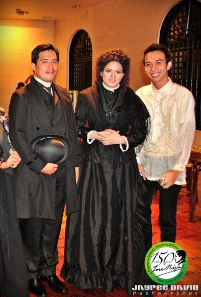 Jose Rizal at 150, Fort Santiago, June 19 2011, Intramuros, Lisa Bayot, Liza Bayot, Descendants