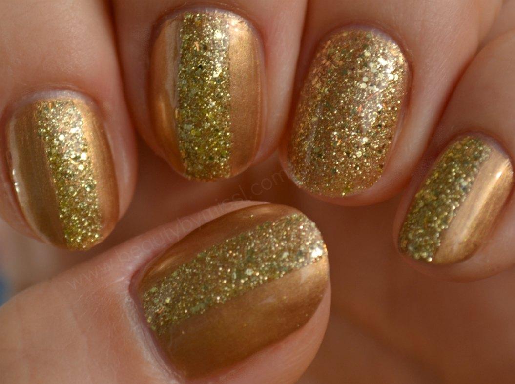 fall manicure, christmas manicure, NYE manicure, notd,