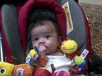 Hobi Baru baby Hadif!