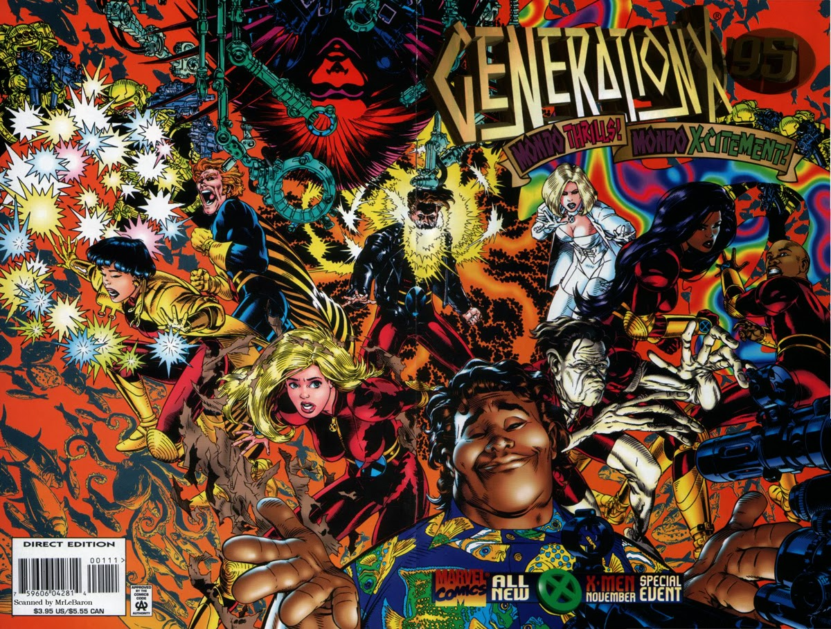 Generation X Annual 95 Cover Golden
