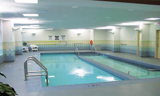 Retirement Homes-Swimming pool facility in victoria homes