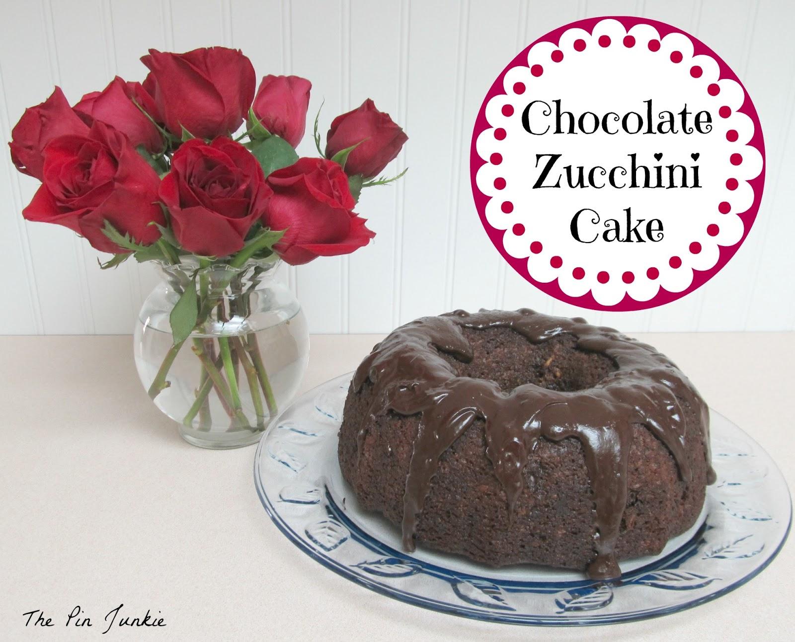 The Pin Junkie: Chocolate Zucchini Cake