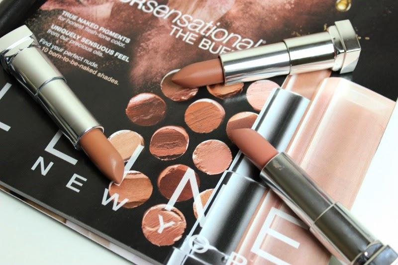 Maybelline Colorsens Nude Lipstick