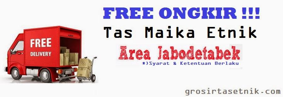 promo free ongkir tas maika etnik 2015