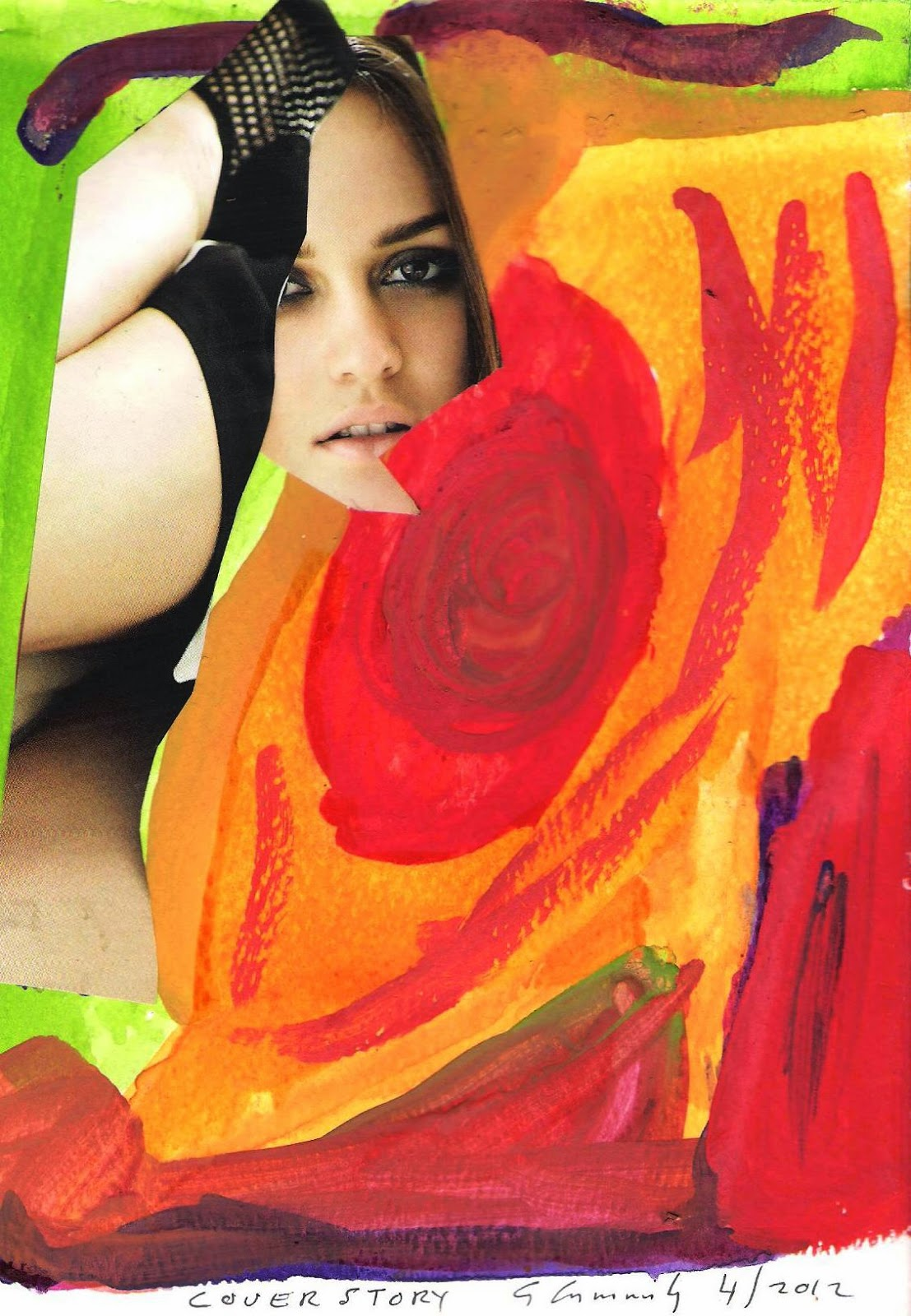 ls land nude models 2 5 Artworks by Gary Cummiskey