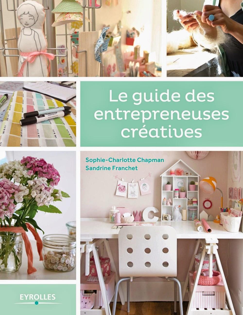 Pré-commandez Le guides des entrepreneuses créatives