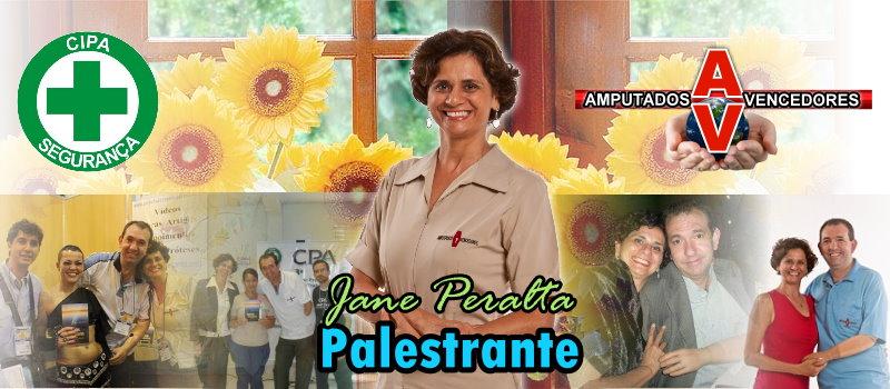 Palestrante Jane Peralta
