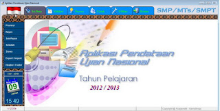 Tutorial software Aplikasi Ujian Nasional 2013