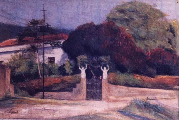 pintura casa de campo