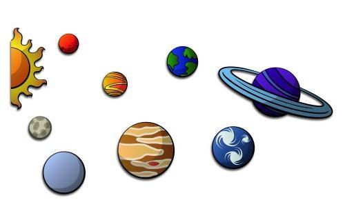 dibujo universo:
