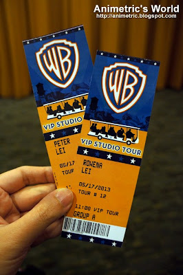 Warner Brothers VIP Studio Tour