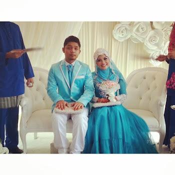 Muhd Hafsham dan Nur Atiqa
