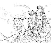 #4 Wizard of Oz Coloring Page
