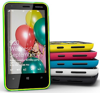 Gambar Nokia Lumia 620 Windows Phone 8 Layar 3.8 Inch