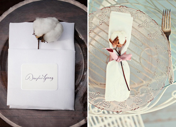 Algodón para decorar en tu boda