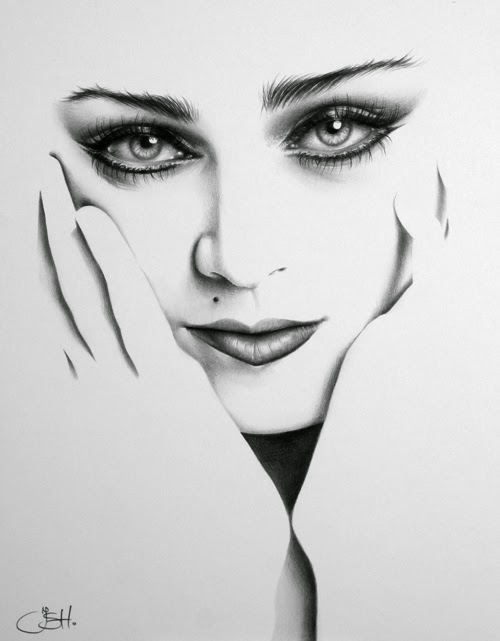 07-Artist-Ileana-Hunter-Minimalist-Hyper-Realistic-Portraits-www-designstack-co