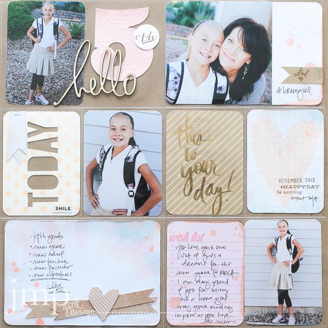 Jamie Pate Pocket Scrapbooking Heidi Swapp Style