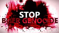 STOP BOER GENOCIDE