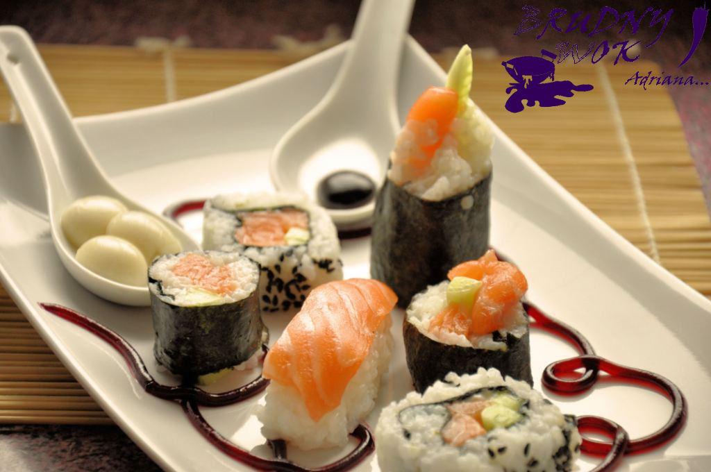 Brudny Wok Adriana Sushi Pierwsze Kroki Z Kuchnią Molekularną