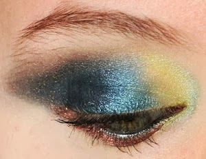 Blue Moon Eye MakeUp