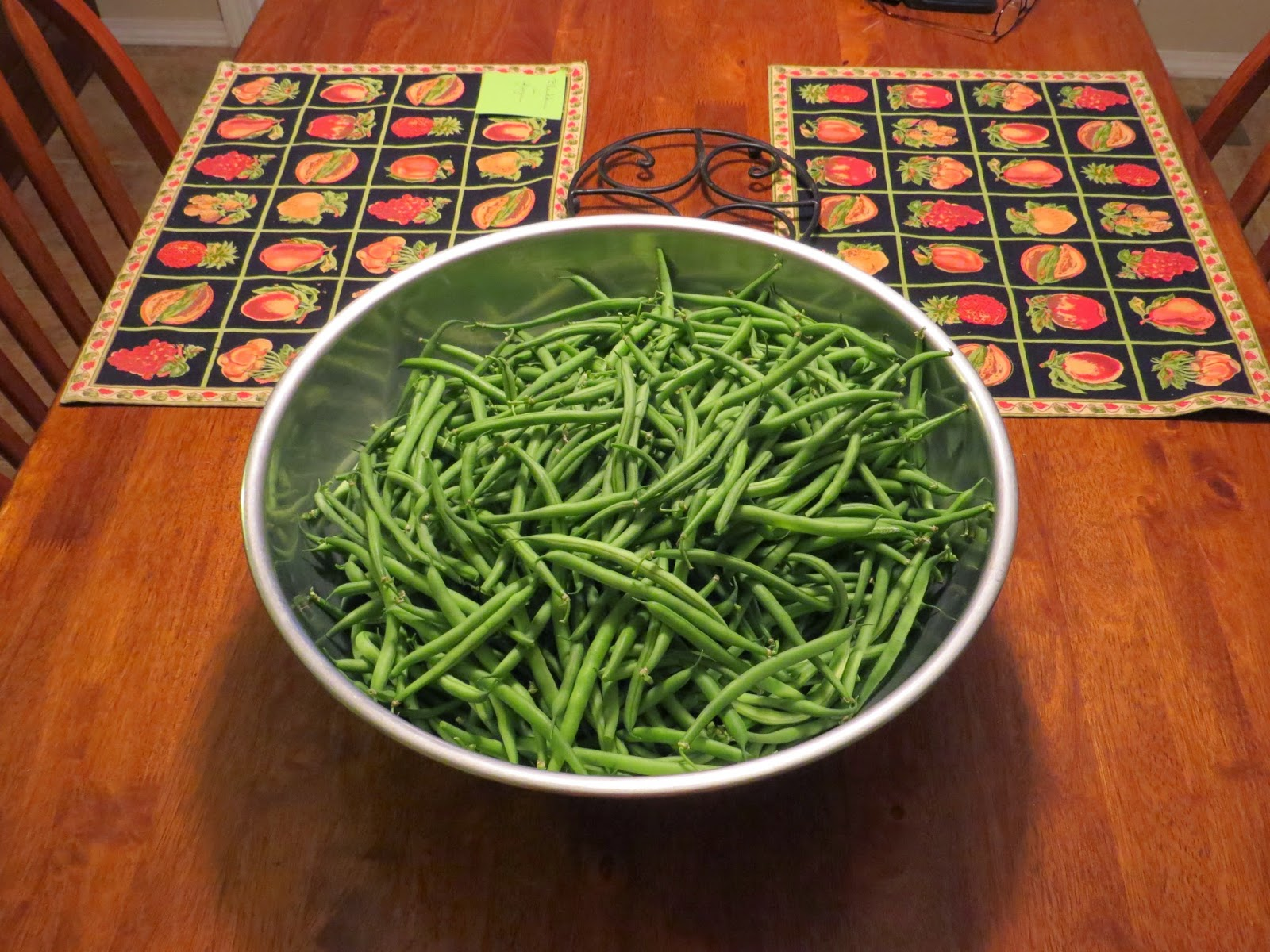 Every year I grow a lot of green beans. I usually only grow pole beans ('Italian Snap') but am also growing bush beans ('French filet' style beans) which ...