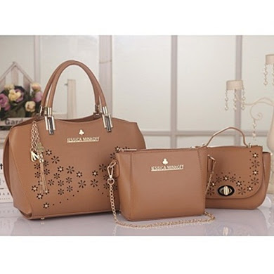 JESSICA MINKOFF (3 IN 1 SET) - KHAKI