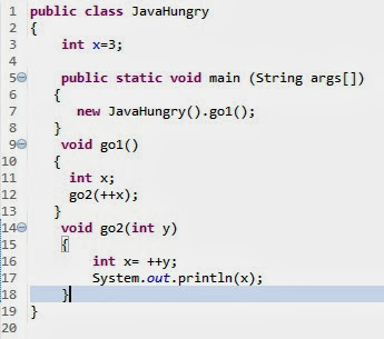 coding interview question for core java