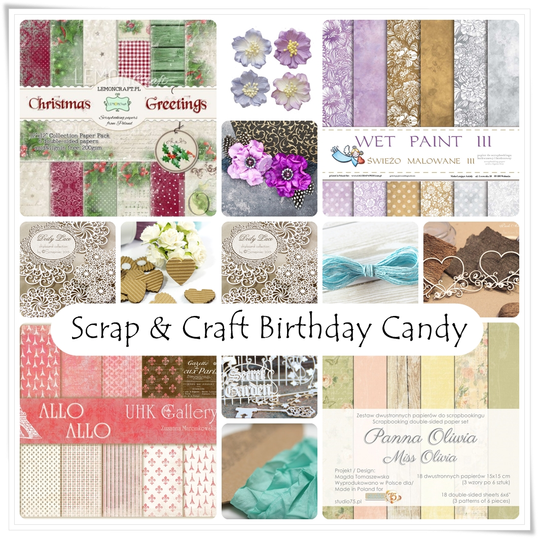 !st Birthday Scrap & Craft