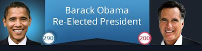 Barack Obama re-elected as president