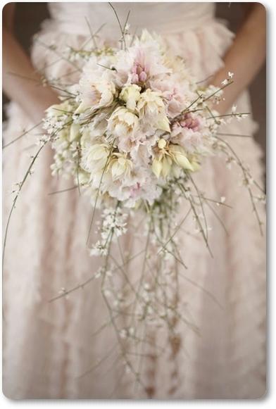 bukett ginst, brudbukett ginst, bouquet genista, wedding bouquet genista