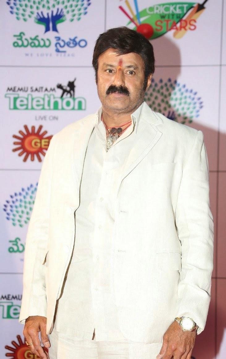 Actor Balakrishna Latest Photos Gallery At Memu Saitam Dine With Stars Event
