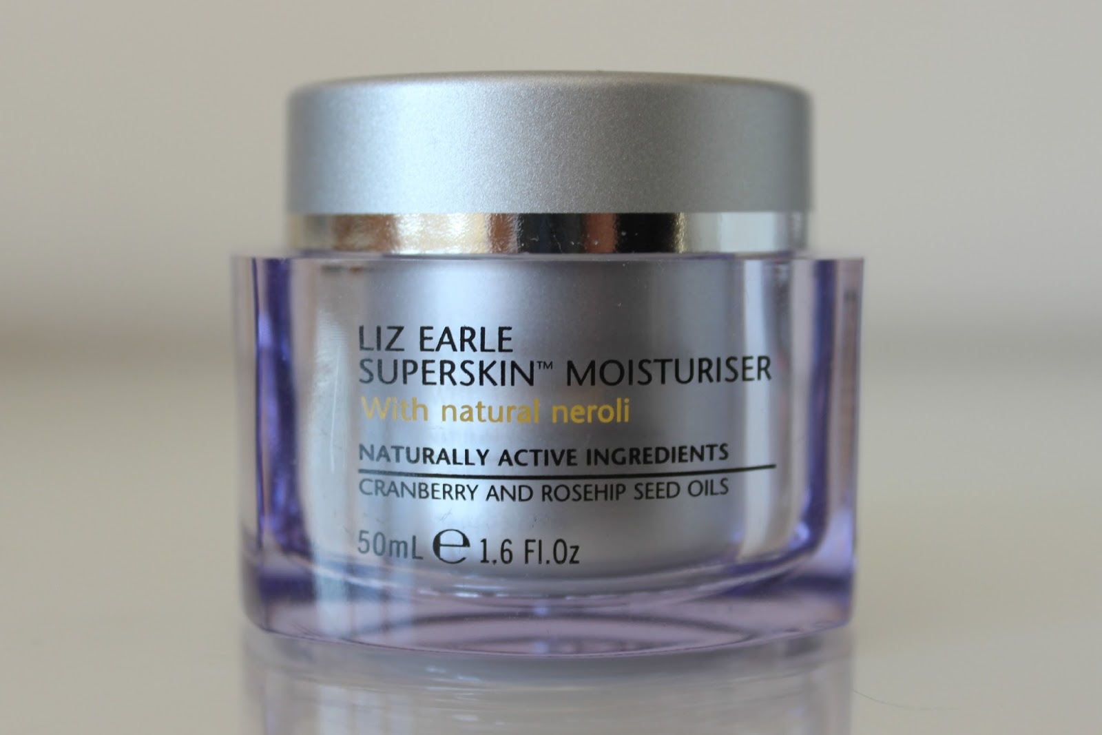 A picture of Liz Earle Superskin Moisturiser with natural Neroli