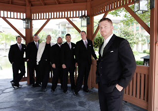 central florida wedding coordiantor groomsmen